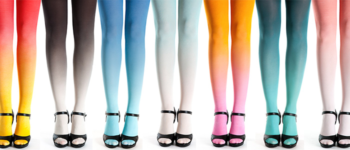 How To Wear Ombre Tights