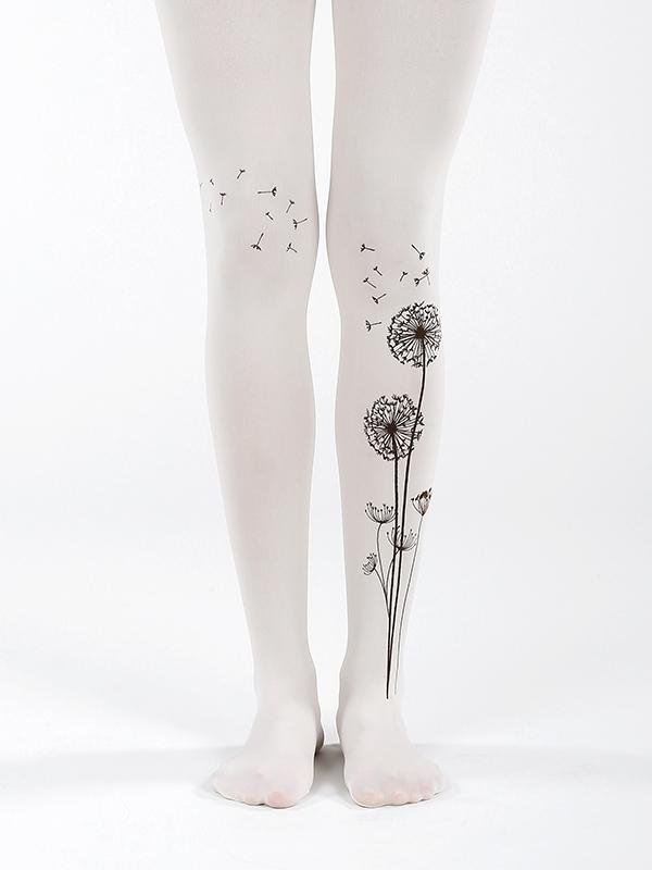 Beautiful dandelion tights by Virivee