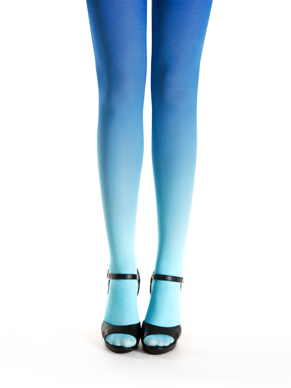 Türkis-blau Strumpfhose