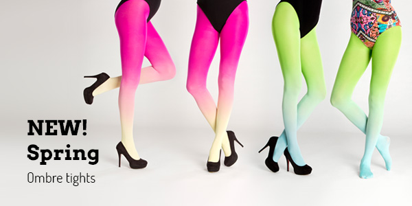 New Virivee spring ombre tights!
