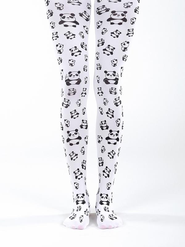 Panda Strumpfhose