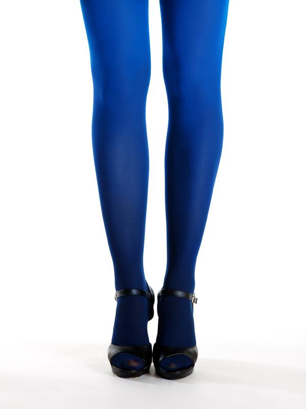 Schwarz-blau Strumpfhose