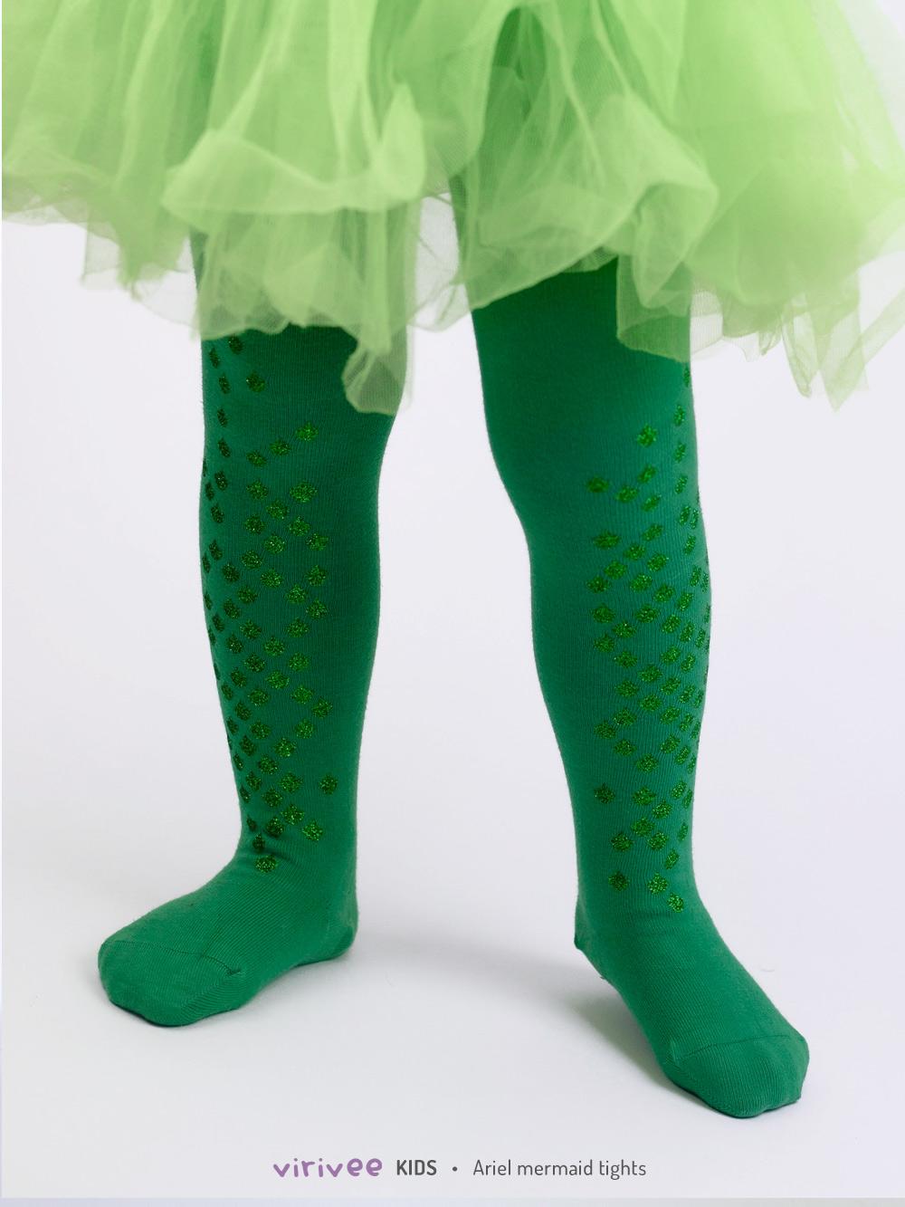 Ariel Meerjungfrau Kinderstrumpfhose