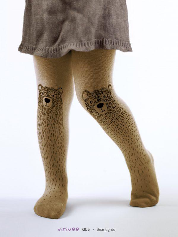 Braunbär Kinderstrumpfhose