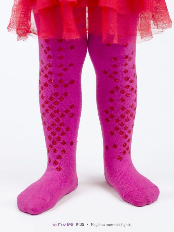 Meerjungfrau Kinderstrumpfhose