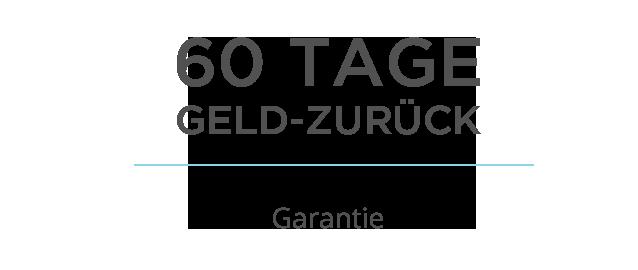 60 Tage Geld-zurück Garantie